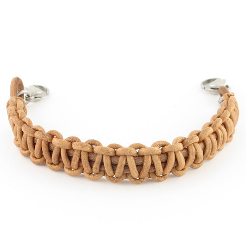 Artisan Braided Leather Bracelet - n-styleid.com