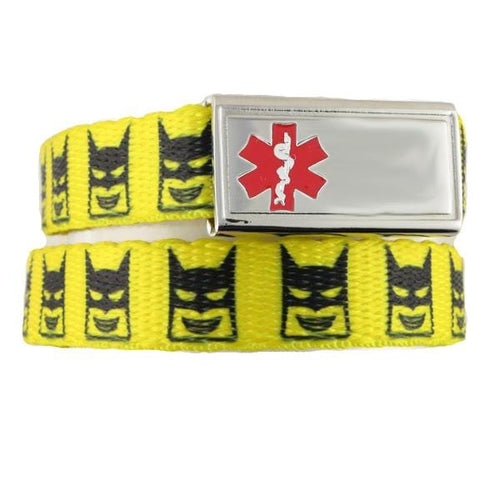 Bat-Kid Medical Bracelets F/E