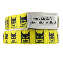 Bat-Kid ID Bracelets for Kids - n-styleid.com