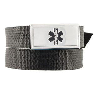 Black Ultralight Medical Bracelet - n-styleid.com