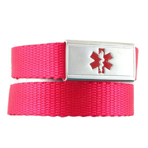 Bright Red Ultralight Medical Bracelet