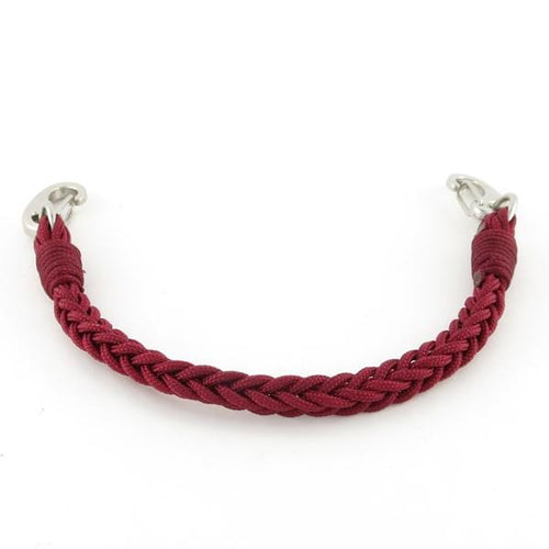 Cabernet Braided Bracelet without ID