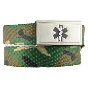 Camo Medical ID Band