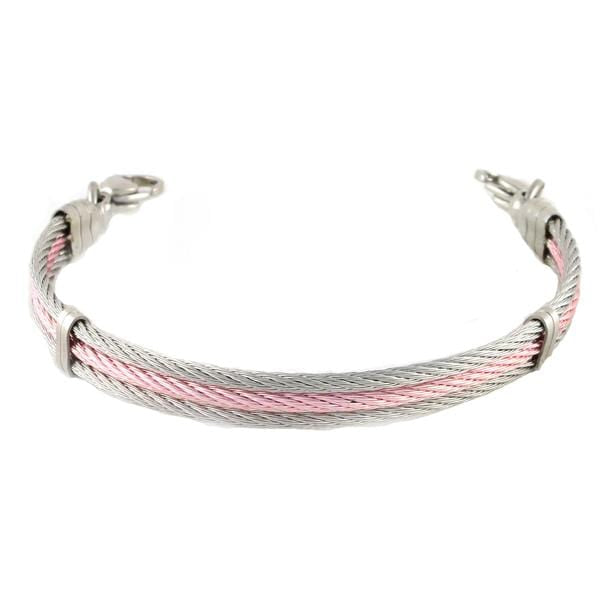 Chapel Cable Bracelet Without Medical ID Tag - n-styleid.com