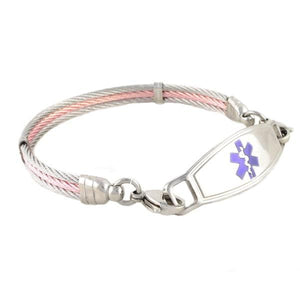Chapel Cable Medical ID Bracelet - n-styleid.com