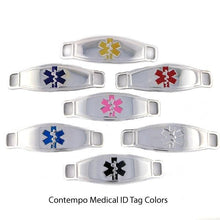 Trio Adjustable Stainless Steel Medical Bracelet - n-styleid.com