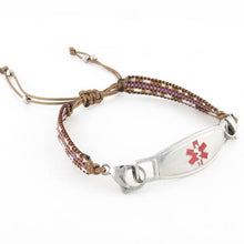 Cora Adjustable Medical ID Bracelet - n-styleid.com