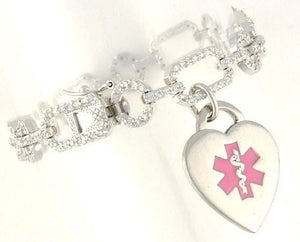 Dazzle Medical Charm Bracelet - n-styleid.com