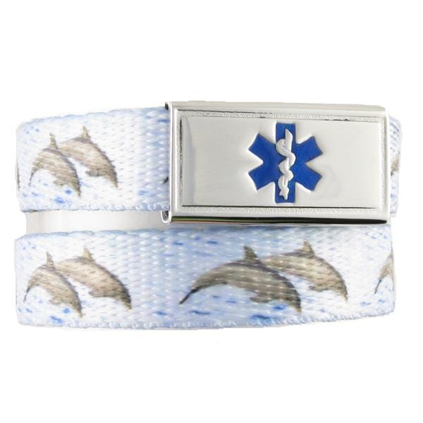 Dolphin Medical ID Bracelet - n-styleid.com
