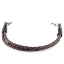 Double Braided Leather Bracelet - n-styleid.com