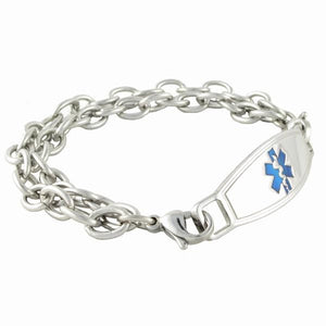 Double Cables Medical Bracelets - n-styleid.com