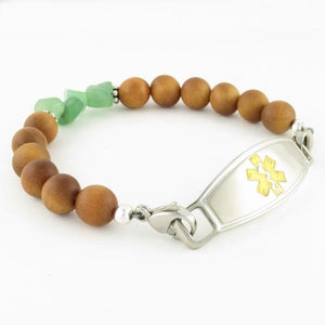 Elements Beaded Medical ID Bracelet - n-styleid.com