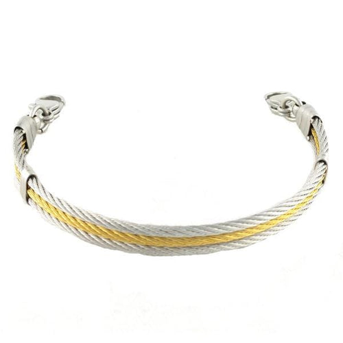 Golden Gate Cable Bracelets Without ID Tag