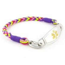 Gum Drop Braided Medical Bracelet - n-styleid.com