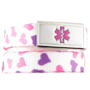 Happy Hearts Medical Alert Bracelet - n-styleid.com