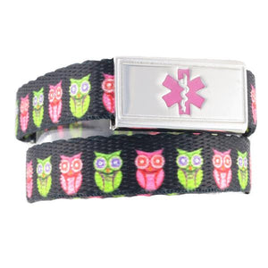 Hoot Medical ID Bracelet - n-styleid.com