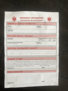 Emergency Information Card - n-styleid.com