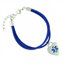 "Jamie ""Navy"" Medical Charm Bracelets"