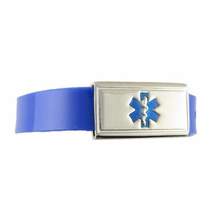 Jelly Band Royal Kids Medical Bracelet - n-styleid.com