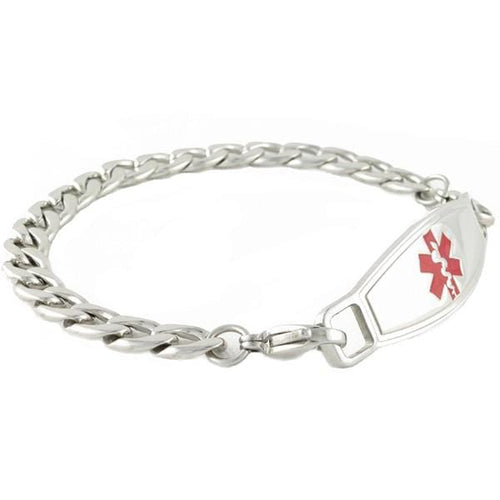 Links Medical ID Bracelets w/Contempo ID