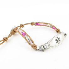 Madonna Adjustable Beaded Free Medical Bracelet - n-styleid.com