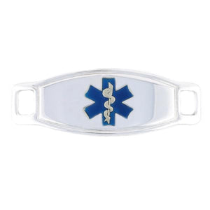 Blue Max Contempo medical ID Tag