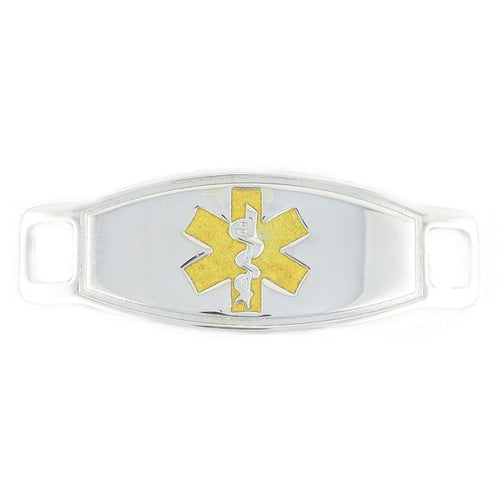 Max Gold Contempo Medical ID Tags - n-styleid.com