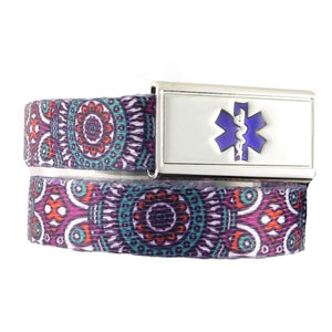 Medallion Medical Bracelet - n-styleid.com