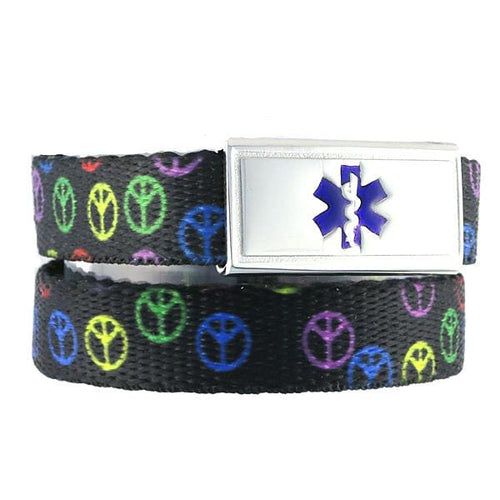 Night Peace Medical ID Bands - n-styleid.com