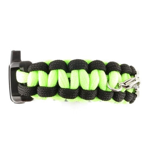 Paracord Whistle Emergency Bracelet Glow-N-Dark (Without ID) - n-styleid.com