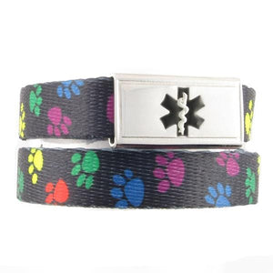 Paws Medical ID Bracelet - n-styleid.com