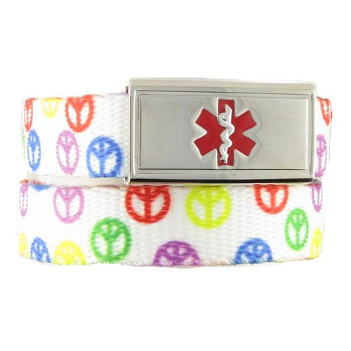 Peace Medical ID Bands - n-styleid.com