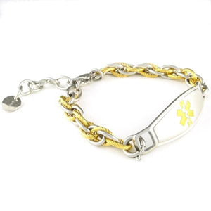 Pegasus Adjustable Medical ID Bracelet - n-styleid.com