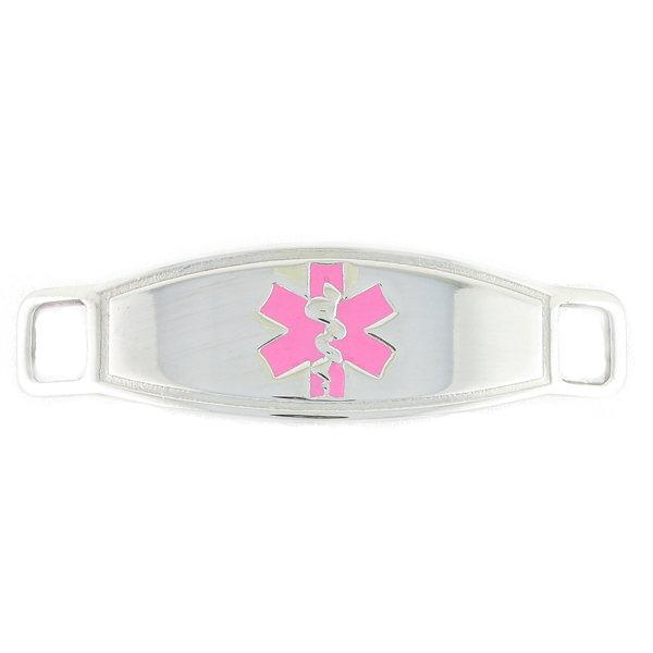 Pink Contempo Medical ID Tag - n-styleid.com