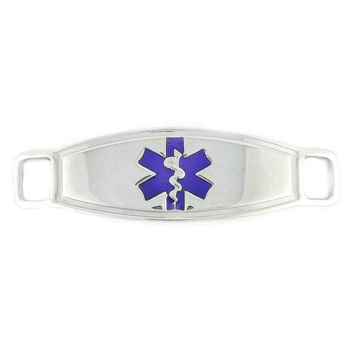 Purple Contempo Medical Tags