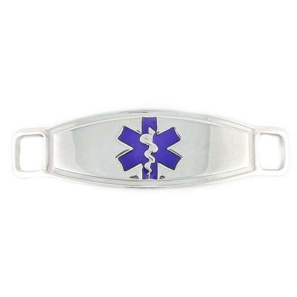 Purple Contempo Medical Tags - n-styleid.com