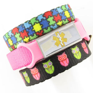 Puzzle & Hoot Triple Pack Medical Bands - n-styleid.com