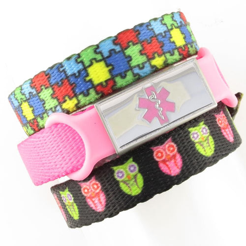 Puzzle & Hoot Triple Pack Medical Bands