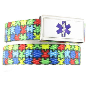 Puzzle Kids Medical Alert Bracelets - n-styleid.com