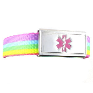 Rainbow Lights Medical Alert Band - n-styleid.com