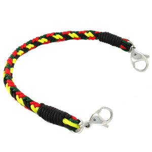 Rasta Braided Bracelet