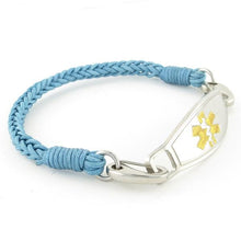River Braided Medical ID Bracelet - n-styleid.com