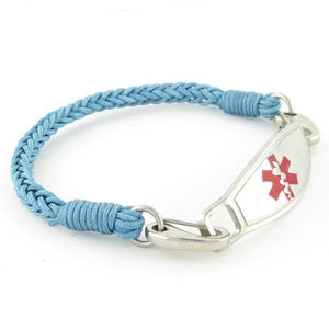 River Braided Medical ID Bracelet