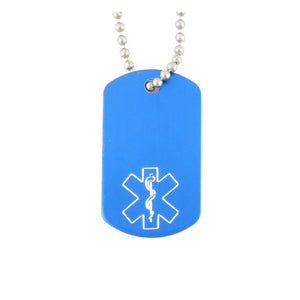 Royal Mini Medical Dog Tag