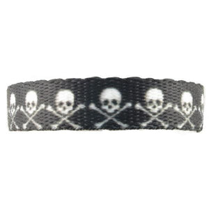 SKULL & CROSSBONES MEDICAL ALERT BAND Without ID