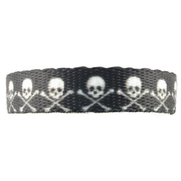 SKULL & CROSSBONES MEDICAL ALERT BAND Without ID - n-styleid.com
