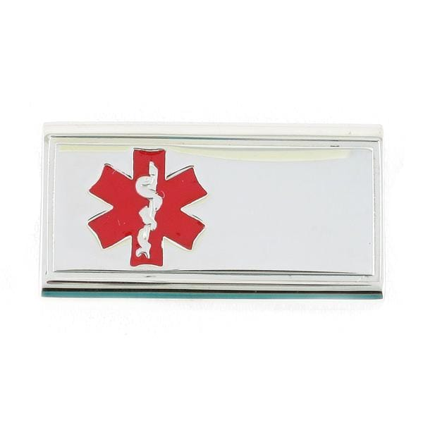 Slider Medical ID Tag (front engraving) - n-styleid.com