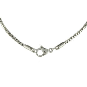 Stainless Steel Box Chain Necklace - n-styleid.com