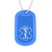 Tahoe Traditional Medical Dog Tag - n-styleid.com