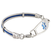 The Bay Cable Medical Bracelet - n-styleid.com